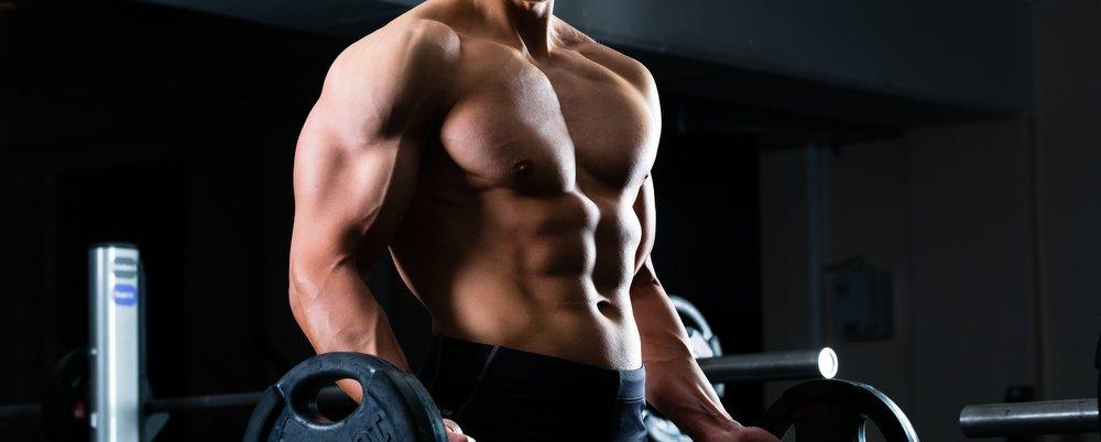 male lean body - anaerobic