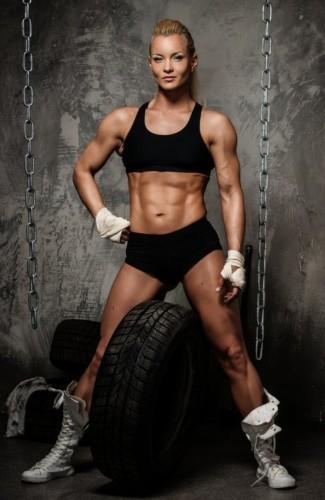 female lean body - anaerobic