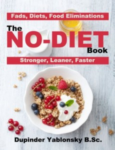 the no diet book cover