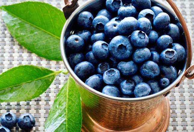 antioxidants in superfoods blueberries