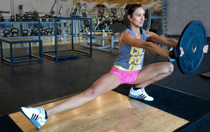 Metabolic stress - cossack squat