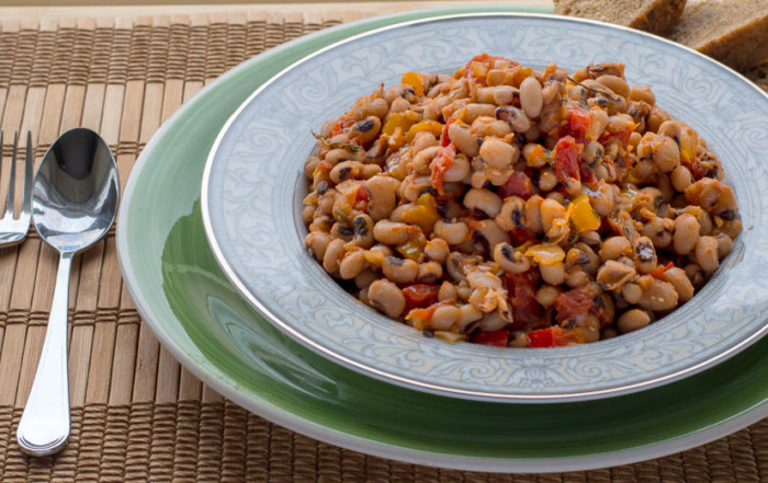 black eyed peas healthy recipe