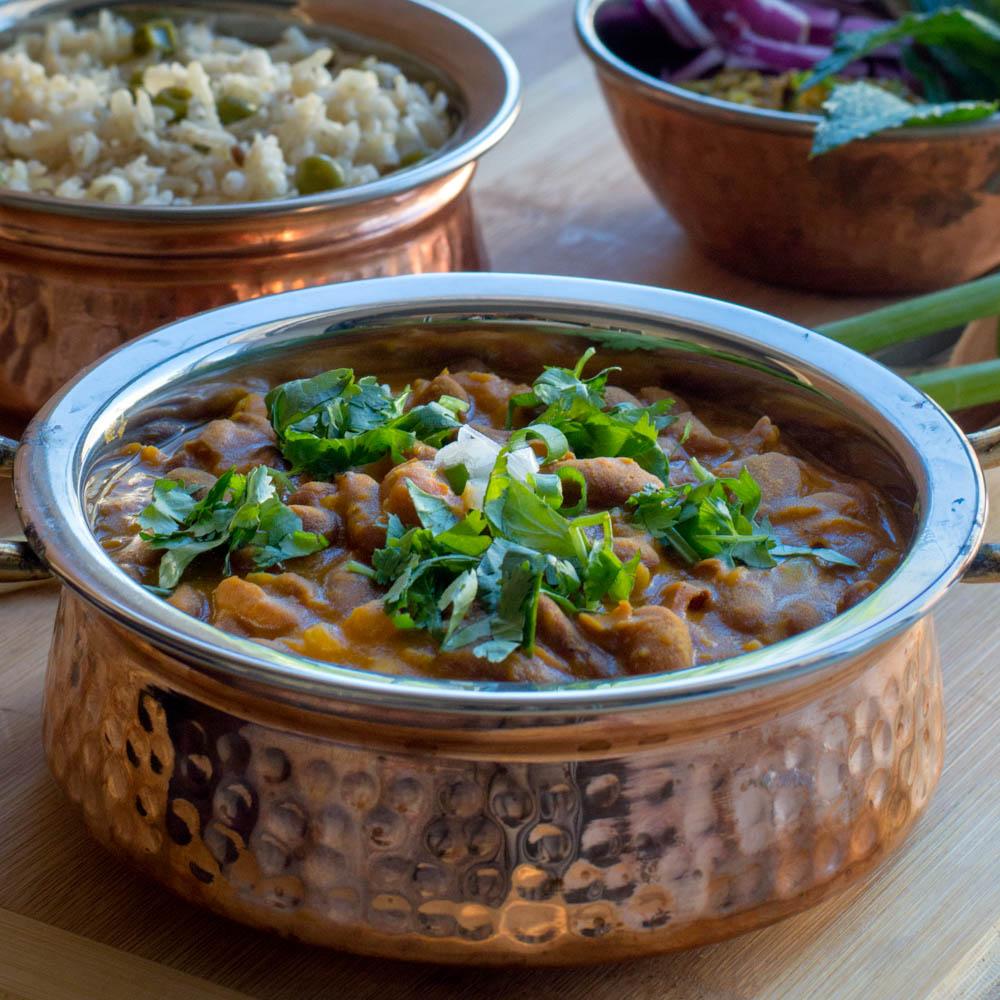 Healthy Restaurant-Style Indian Rajma—Kidney Bean Curry Recipe