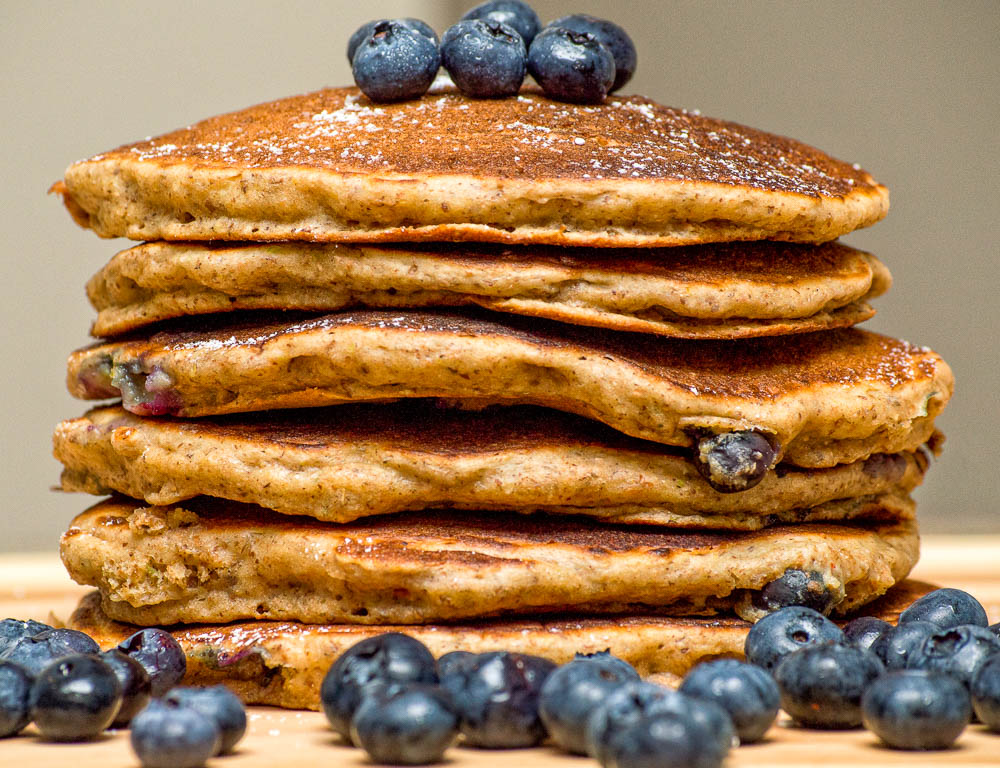 grain and nut pancakes